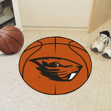 "Oregon State Basketball Mat 27"" diameter"