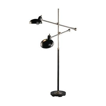Robert Abbey Bruno Adjustable Double-Arm Floor Lamp