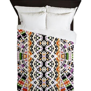 Queen Duvet Cover - Mix #111 - Ornaart Design