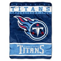 Tennessee Titans NFL Royal Plush Raschel (12th Man Series) (60in x 80in)