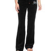 Logo Vlr Juicy Sunset Bootcut Pant by Juicy Couture