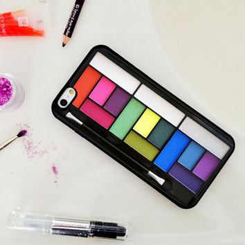 Bright Makeup Set, Custom Phone Case for iPhone 4/4s, 5/5s, 6/6s, 6/6s+, iPod Touch 5