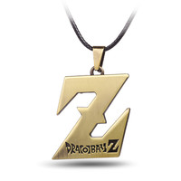 Shiny Jewelry Gift New Arrival Anime Pendant Men Stylish Alphabet Necklace [6526582467]