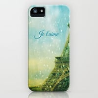 Paris, I Love You iPhone & iPod Case by Ann B.