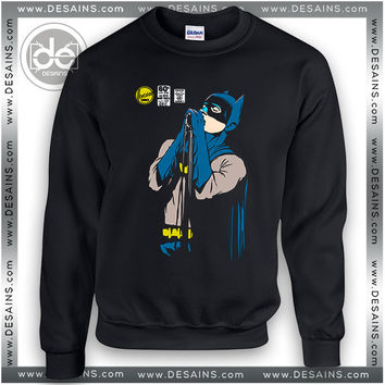 Buy Sweatshirt Batman Funny Singing Sweater Womens and Sweater Mens