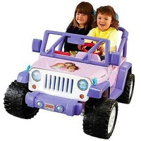 Power Wheels Nickelodeon Dora and Friends Jeep Wrangler