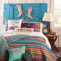 Cowboy Loves Cowgirl Bedding Collection - Quilts - Bedding