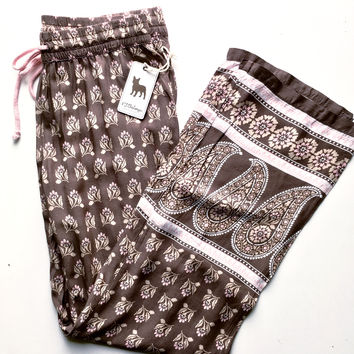 PJ Salvage Coco Pant Cocoa