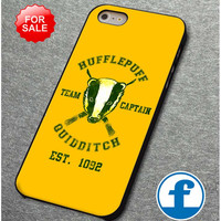 Hufflepuff Team Captain Quidditch for iphone, ipod, samsung galaxy, HTC and Nexus Case
