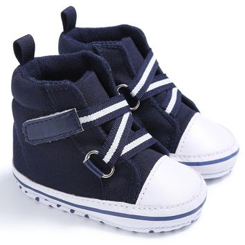 New Sports Sneakers Newborn Baby Boys Girls First Walkers Shoes Infant Toddler Soft Bottom Anti-slip Prewalker Shoes