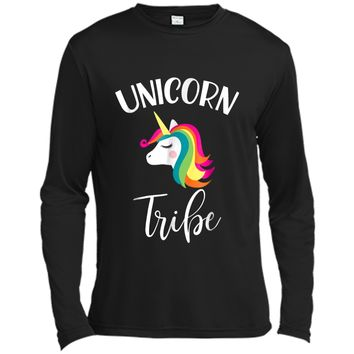 Bachelorette Party  Unicorn Tribe Matching Group Tees Long Sleeve Moisture Absorbing Shirt