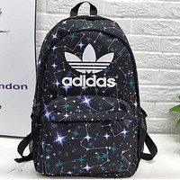 Adidas Fashion Print Sport Shoulder Bag Laptop Backpack School Backpack