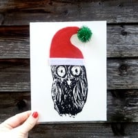 Supermarket: Christmas OWL* double card from Oh What Lovely