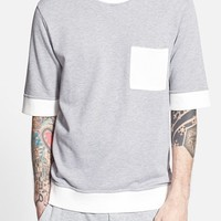 Men's Alternative French Terry Short Sleeve Crewneck Sweatshirt