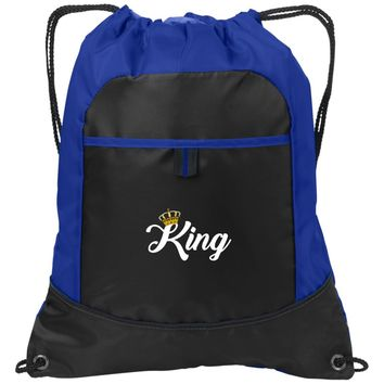 King Workout Trucker Hat | Drawstring Backpack