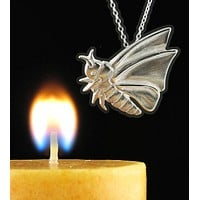 Flying Moth Necklace