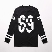 XQUARE Split 69 Long T Shirt