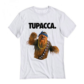 TUPACCA shirt . wookie shirt . funny meme shirts . for star wars fans