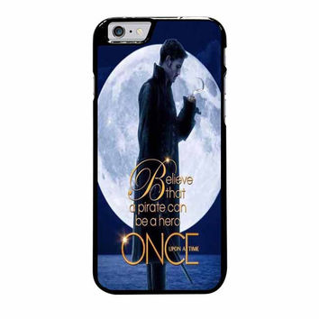 once upon a time captain hook believe iphone 6 plus 6s plus 4 4s 5 5s 5c 6 6s cases