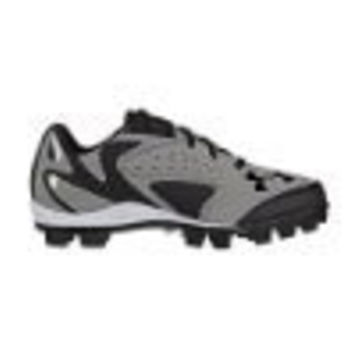 Under Armour Mens Leadoff IV Low Molded Baseball Cleats Black/Gray
