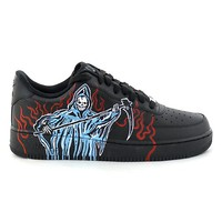 WARREN LOTAS BILL AIR FORCE1'S HANDPAINTED / BLACK-LIGHT BLUE