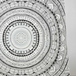 Grey Medallion Shower Curtain - Urban Outfitters