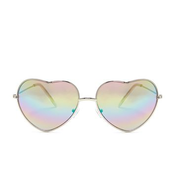 Tinted Heart Sunglasses