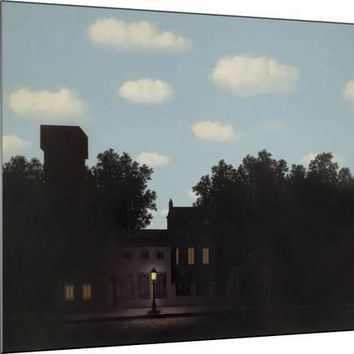 L'Empire des Lumieres Art Print by Rene Magritte at Art.com