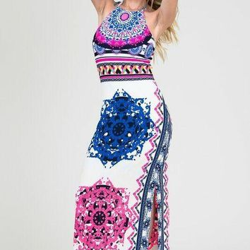 Greek Goddess Maxi Dress