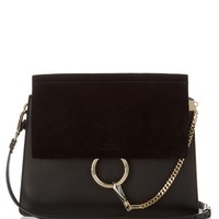 Faye medium leather and suede shoulder bag | Chloé | MATCHESFASHION.COM UK