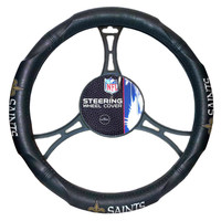 New Orleans Saints NFL Steering Wheel Cover (14.5 to 15.5)
