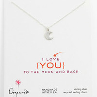 Dogeared 'To the Moon & Back' Pendant Necklace | Nordstrom