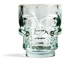 Kikkerland Skull Shot Glasses, Set of 4