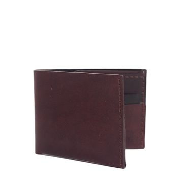 No. 6  Leather Wallet - Malbec – Bison Made