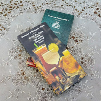 Benson and Hedges Drink Recipes from 100 of the Greatest Bars and 100 of the Worlds Greatest Recipes 2 Volume Set