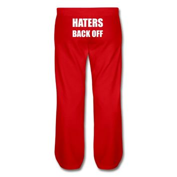 Haters Back Off sweat pants Haters Back Off Sweatpants | Miranda Sings