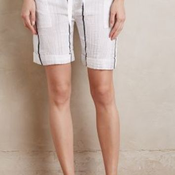 lemlem Meron Shorts in Neutral Motif Size:
