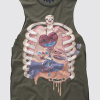 It's Whats on the Inside Sleeveless T-Shirt