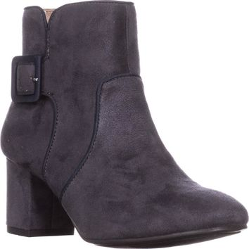 White Mountain Calisi Ankle Booties, Grey, 8 US