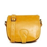 Liquorish Camel Crossbody Bag