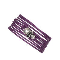 Wrap Wax Bracelet in Purple