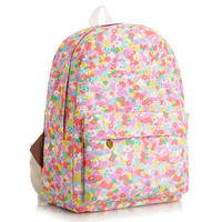 Lovely Cute Canvas Korean Backpack = 4888038084