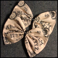 Ouija Board Printed Hair Bow