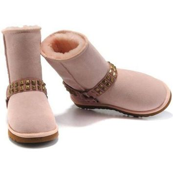 ICIKIN2 Cyber Monday Uggs Boots New Arrival 9819 Pink For Women 98 72