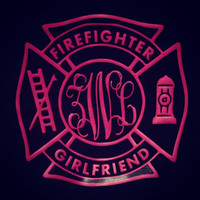 Fire fighter girlfriend, wife, sister, ect. we can do this shirt for anyone who loves their firefighter!
