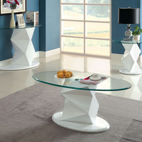 Cm4170Wh-C Coffee Table  Halawa V Collection