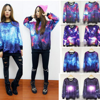 Colorful fashion sweater