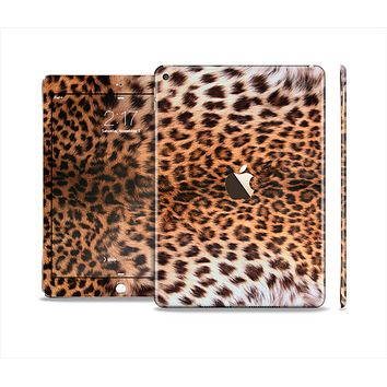 The Mirrored Leopard Hide Skin Set for the Apple iPad Air 2