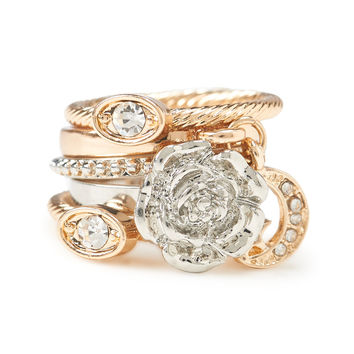Rose Moon Ring 5-Pack