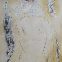 Saatchi Art: The nude 3 Drawing by Frederic Belaubre